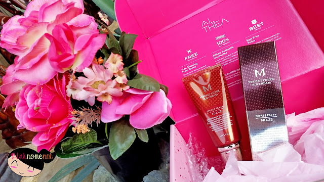 Unboxing Althea PH Missha M Perfect Cover BB Cream pinknomenal.com