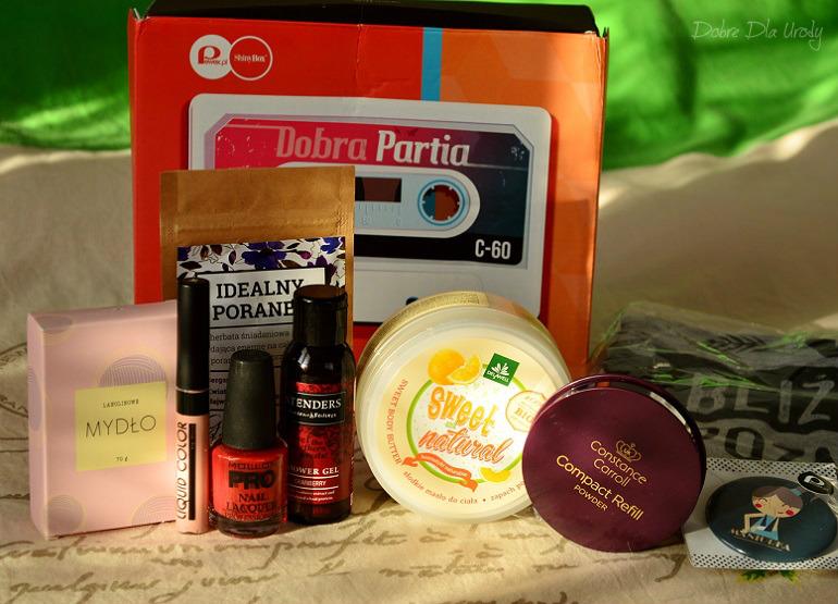 ShinyBox Dobra Partia - recenzje produktów z listopadowego pudełka ;)