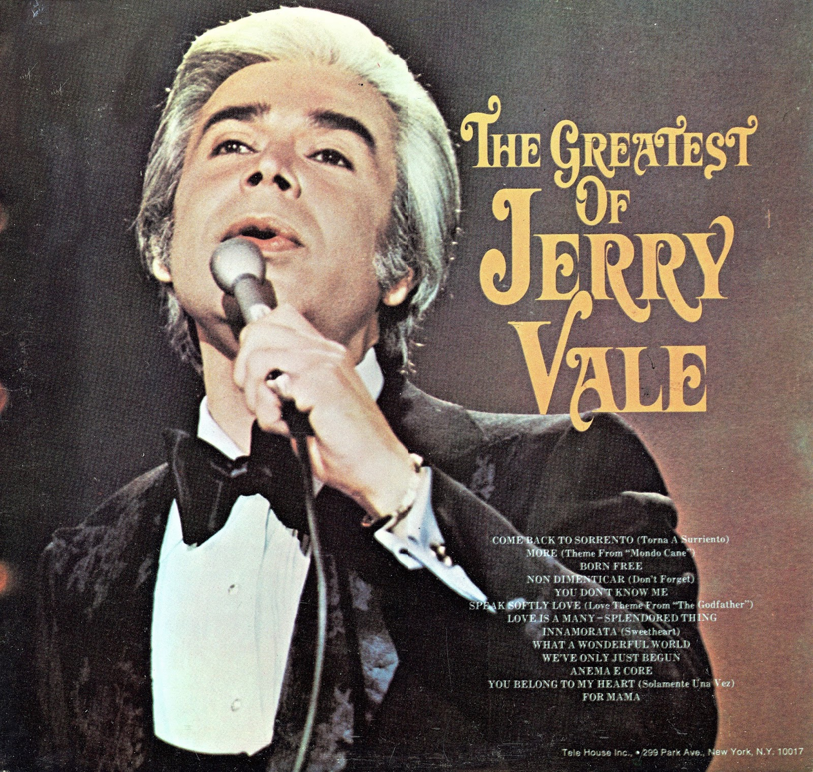 Love me with all of your heart jerry vale