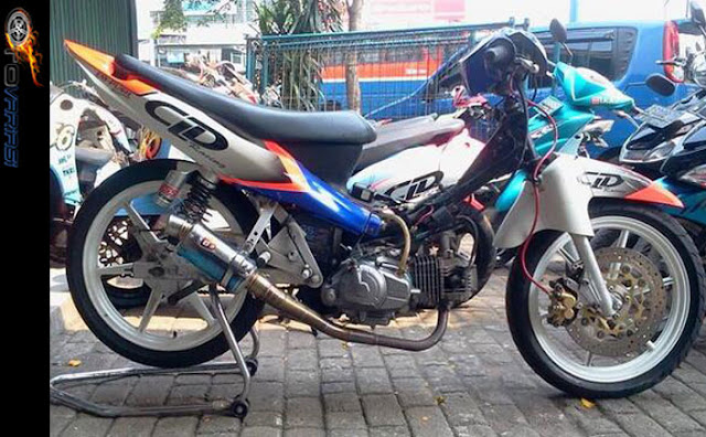 foto modifikasi jupiter z road race