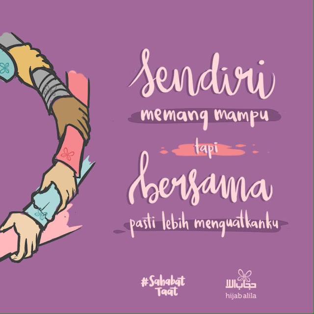 Kata-Kata Bijak Hijrah Bersama Sahabat www.ridous.com