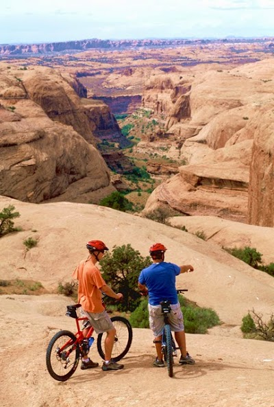 Moab Adventure Center provides advice, gear and guides for taking on Moab's New Mountain Bike Trails