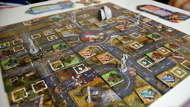 Raid & Trade board game