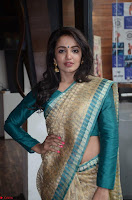 Tejaswi Madivada looks super cute in Saree at V care fund raising event COLORS ~  Exclusive 023.JPG