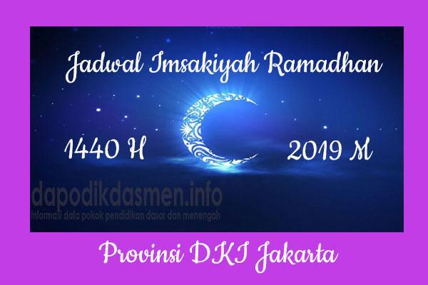 Jadwal Imsakiyah Ramadhan Provinsi DKI Jakarta