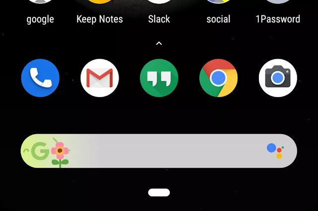 Google Doodles Are Now Available On Pixel Home Screen Search Bar