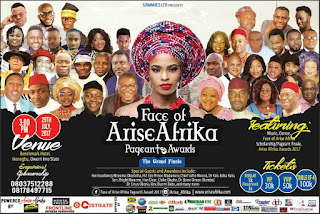 Owerri Are you Ready? Face of Arise Afrika Pageant/ Awards 2017 3