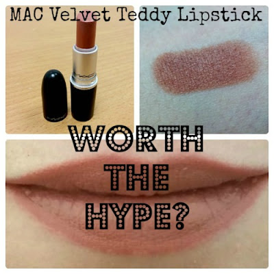 Worth The Hype? Mac Velvet Teddy Lipstick