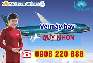 Đặt mua vé máy bay Vietnam Airline đi Quy Nhơn