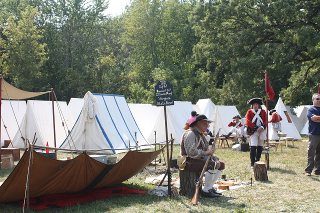 Military Through the Ages at Cantigny Park is one of many weekend events July 26-29 in the Chicago Suburbs