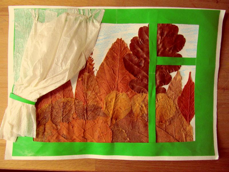 Осенняя поделка в садик