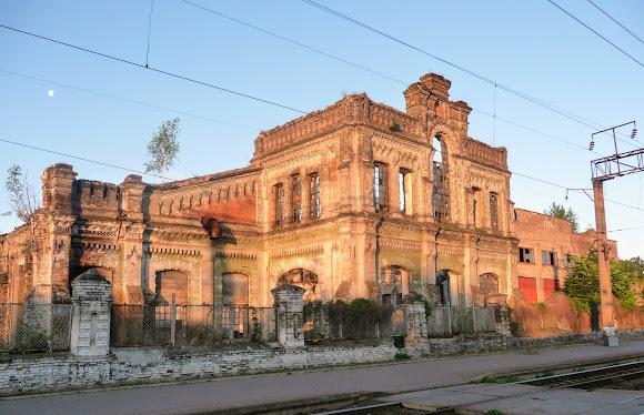 Конотоп. Руины железнодорожных мастерских. Кон. 19 в.- нач. 20 в.