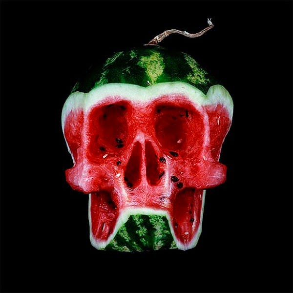 Halloween với hoa quả phong cách Dimitri Tsykalov