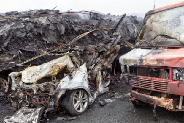 Δυστύχημα στη Εγνατία: Δριμύ κατηγορώ Συνδικάτου φορτηγατζήδων σε υπουργεία, τροχαία και Εγνατία οδό