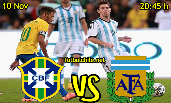 Ver stream hd youtube facebook movil android ios iphone table ipad windows mac linux resultado en vivo, online:   Brasil vs Argentina