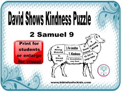 Cathys Corner David Shows Kindness