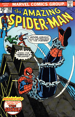 Amazing Spider-Man #148, the Jackal and the Tarantula