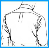 Info Rahsia Di Sebalik Lipatan Pada Belakang Baju Kemeja