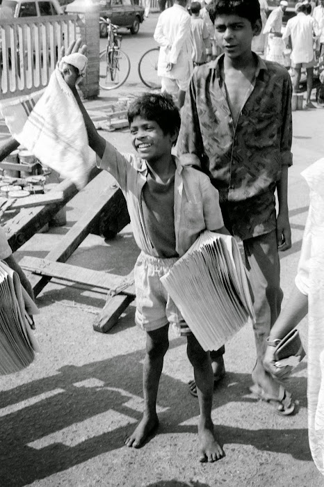 Mumbai, Church Gate station, © L. Gigout, 1991