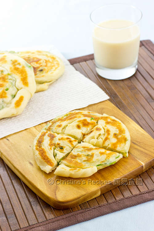 蔥油餅【酥軟可口】Scallion Pancakes