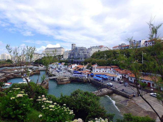 Port of Biarritz, France