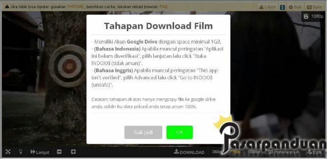 2 Cara Pasti Download Film di IndoXXI Dengan Hp & PC Tanpa Iklan