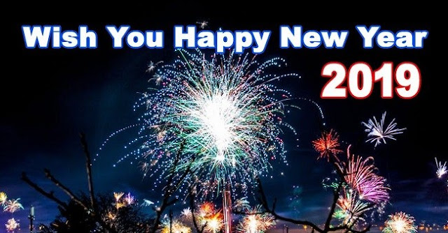 Happy New Year 2019 HD Wallpaper Download