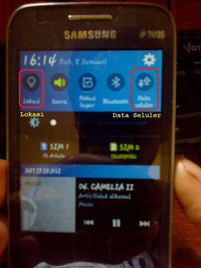 Cara Mengatasi Pulsa Berkurang Otomatis di HP Android Samsung