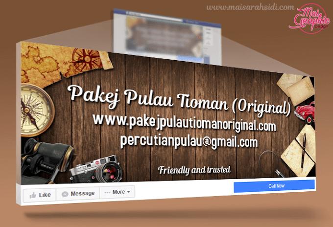 Design Facebook Cover Photo Pakej Pulau Tioman