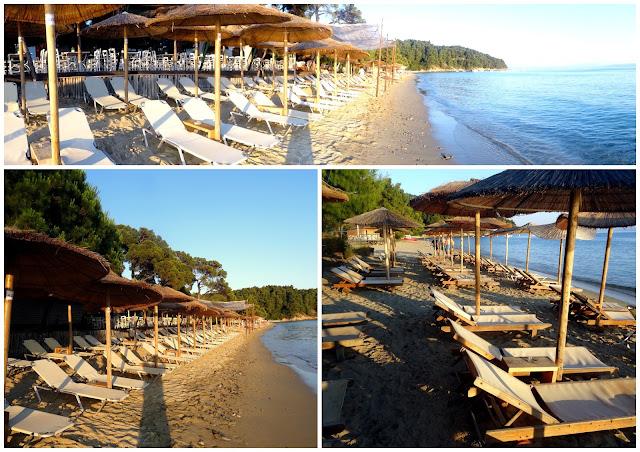 Sunset Vromolimnos Beach, Skiathos, Greece