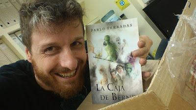 Pablo Ferradas, autor de La caja de Bernit, literatura fantástica juvenil