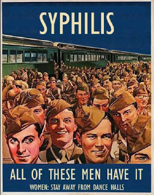 Syphilis - All of these men have it.
