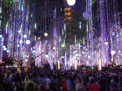 The Ayala Triangle 2012 Christmas Light and Sound Show