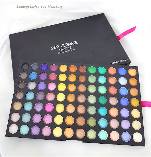 [New in...] Coastal Scents Ultimate 252 Color Eyeshadow Palette