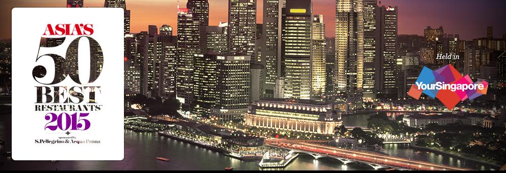 【飲食新聞】二〇一五年亞洲五十最佳餐廳,日程揭曉