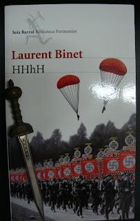 Portada del libro HHhH, de Laurent Binet