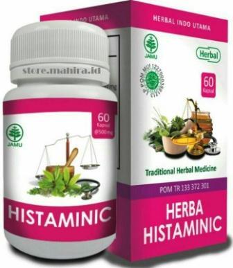 Herba Histaminic - Herbal Masalah Kulit