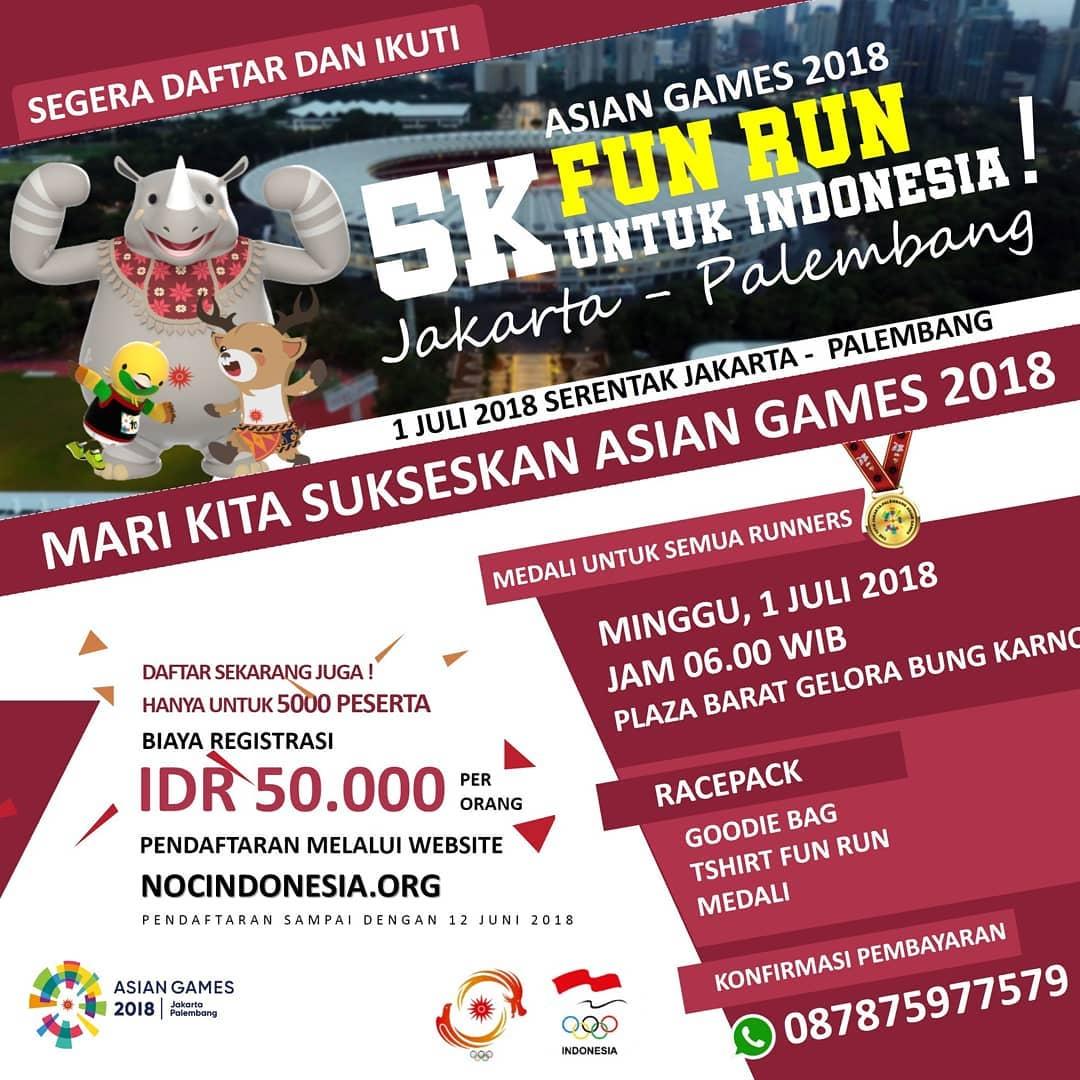 Asian Games Fun Run • 2018