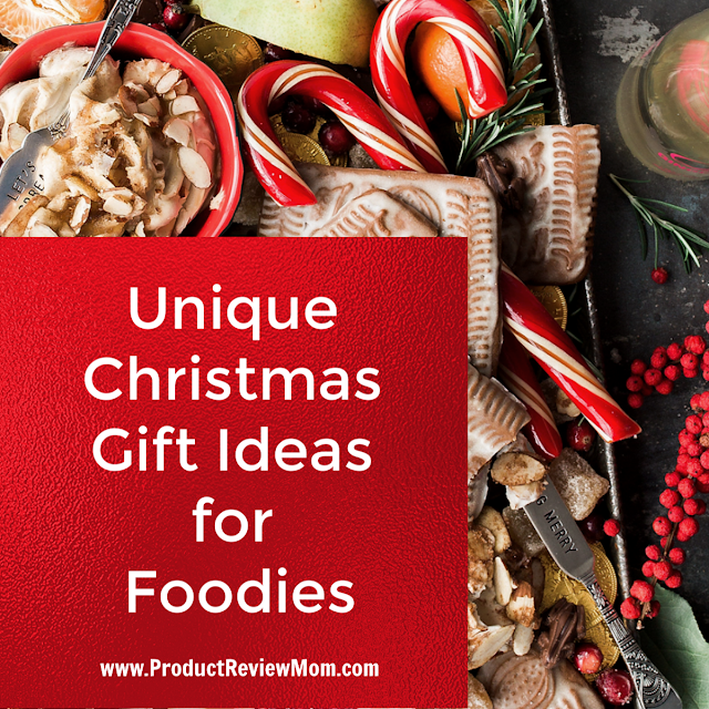 Unique Christmas Gift Ideas for Foodies That They Will Love!  via  www.productreviewmom.com