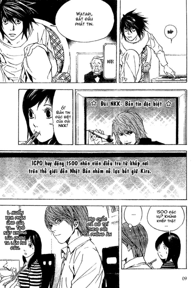 Death Note chapter 017 trang 9