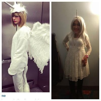 Taylor Swift et moi version licorne