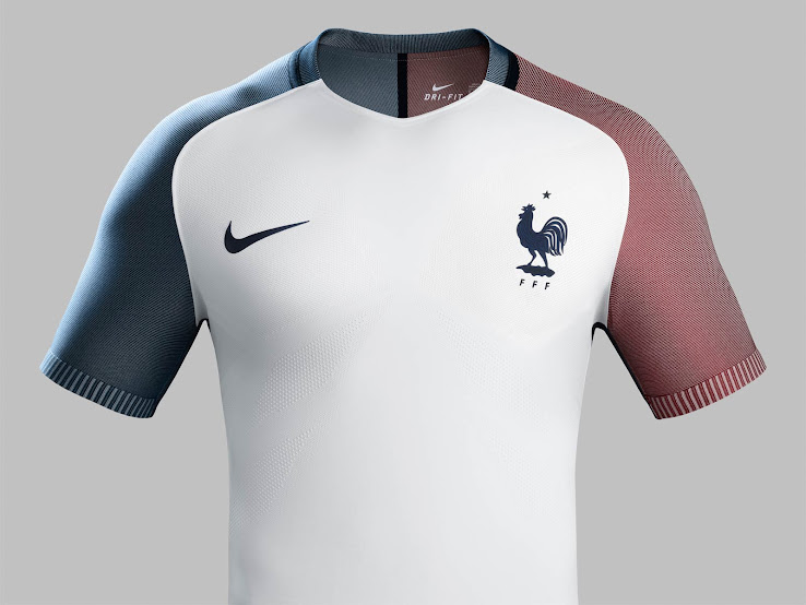 competitive price 1179f a85d2 France Euro 2016 Away Kit Released - Footy Headlines