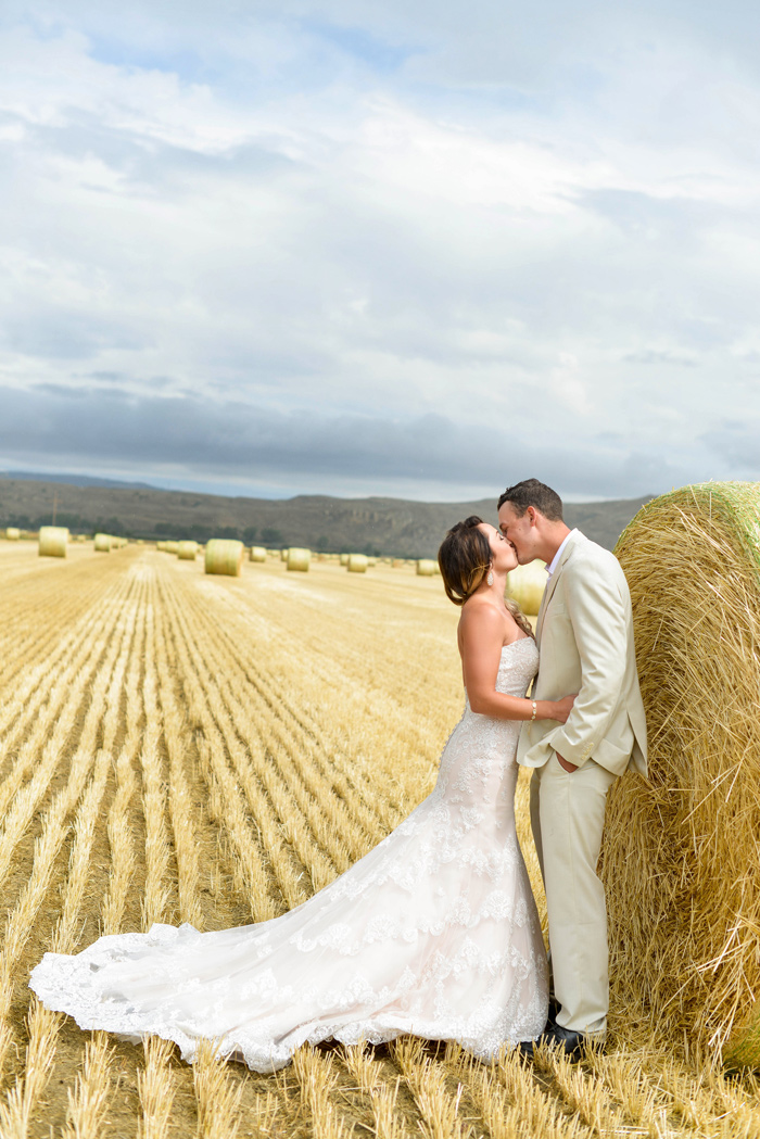 Couple / Hay Bale / Merry Character Photography