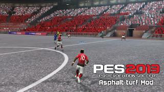 PES 2013 Asphalt turf Mod (Old Trafford)