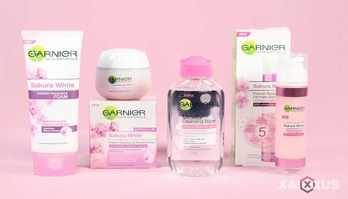 Cream pemutih wajah yang aman dan bagus - Garnier Sakura White