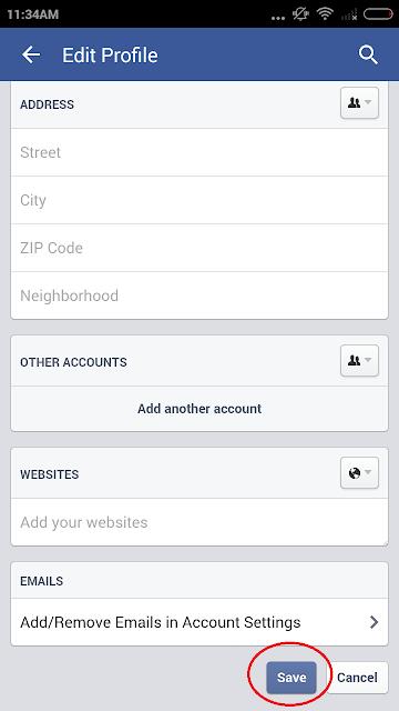 फेसबुक पर मोबाइल नंबर न दिखे