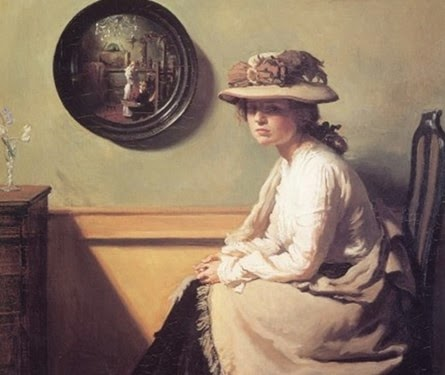 The Mirror 1900 W. Orpen