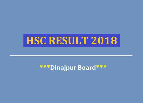 dinajpur board hsc result 2018