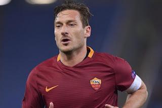 Francesco Totti Pensiun