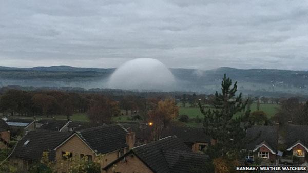 En Gales se ha avistado el mismo fenómeno